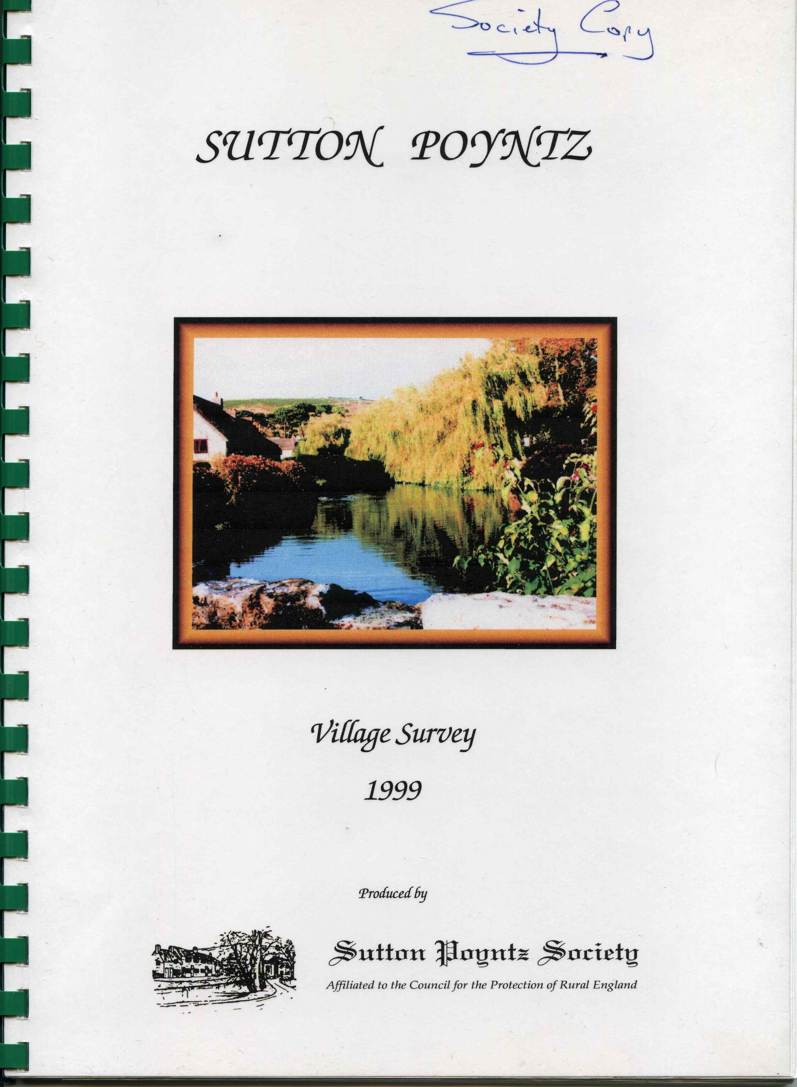 The Sutton Poyntz Village Survey - 1999